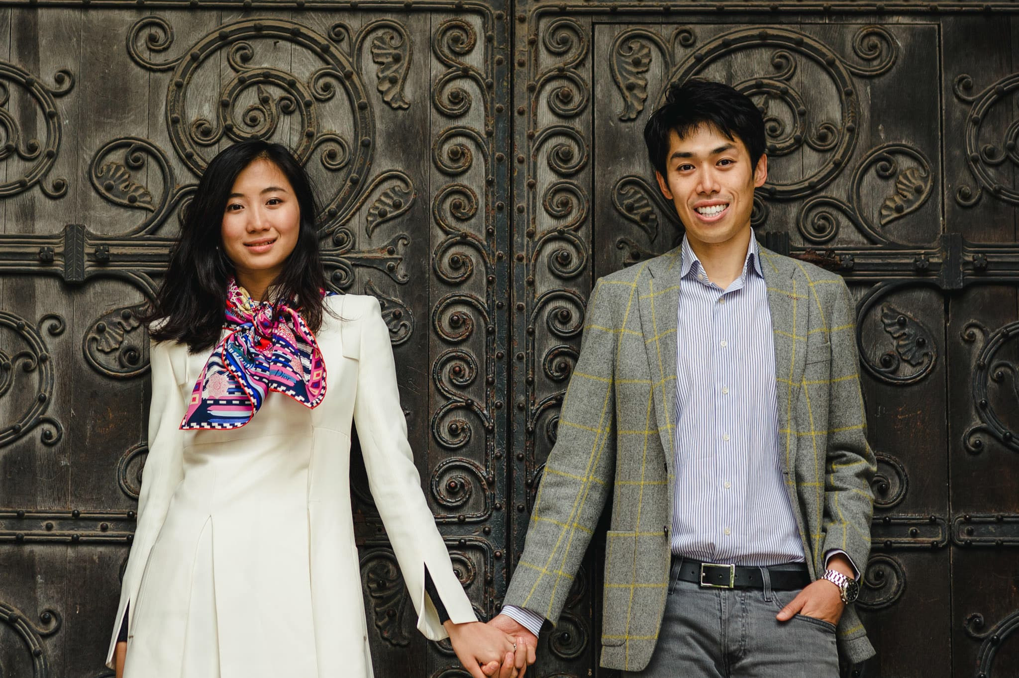 Yilin + Jason | London engagement session 1