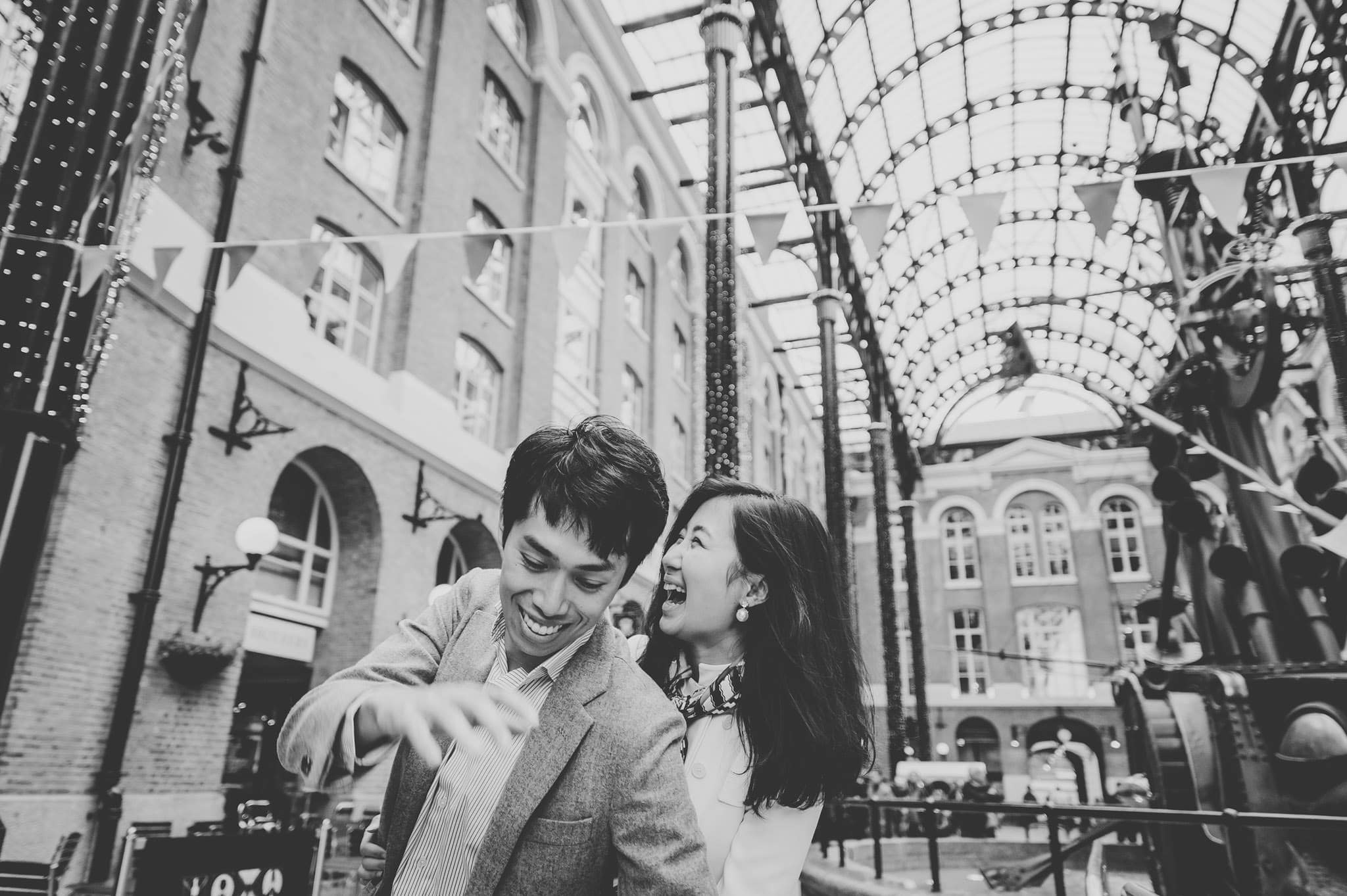 Yilin + Jason | London engagement session 6