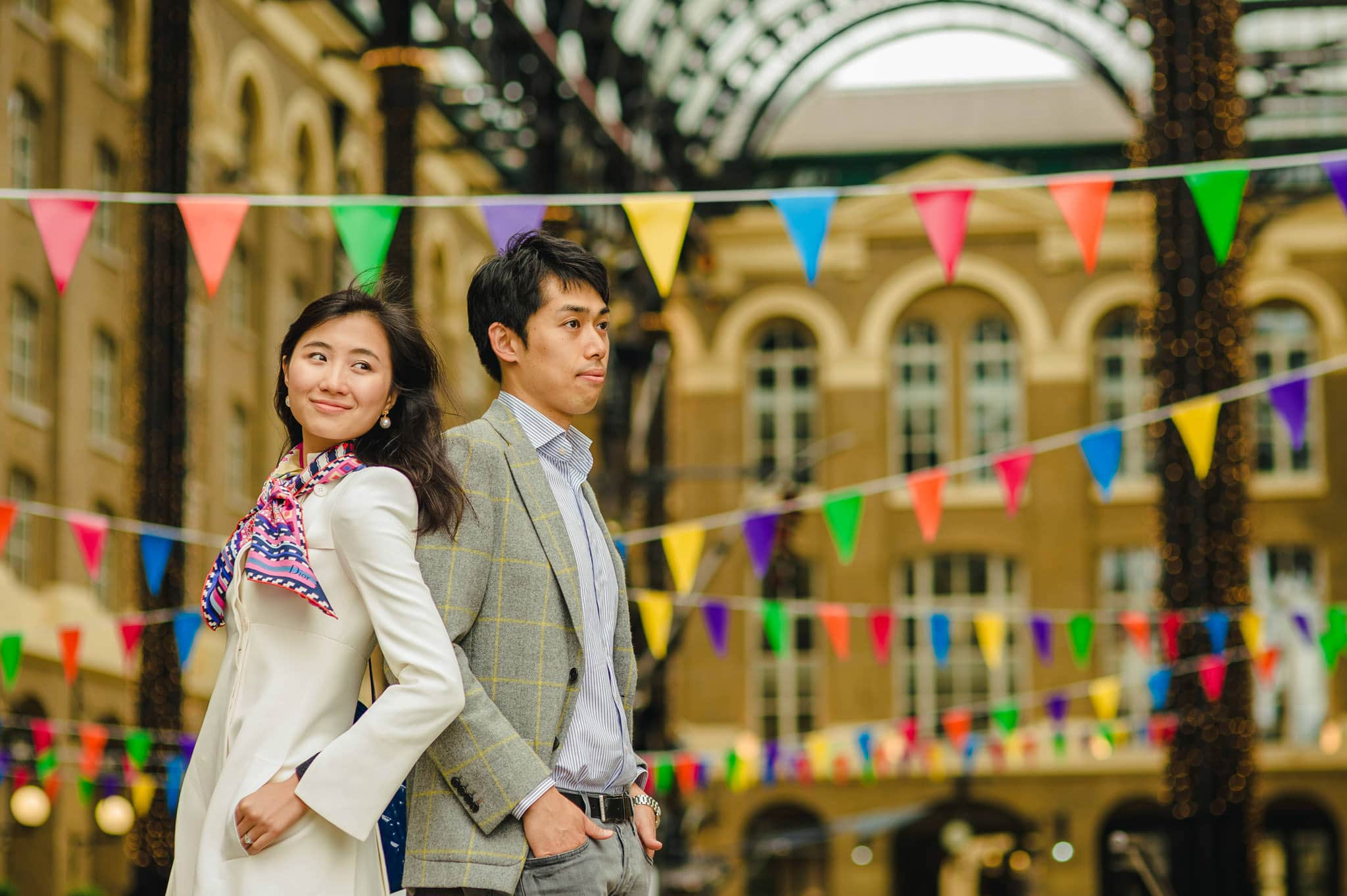 Yilin + Jason | London engagement session 8