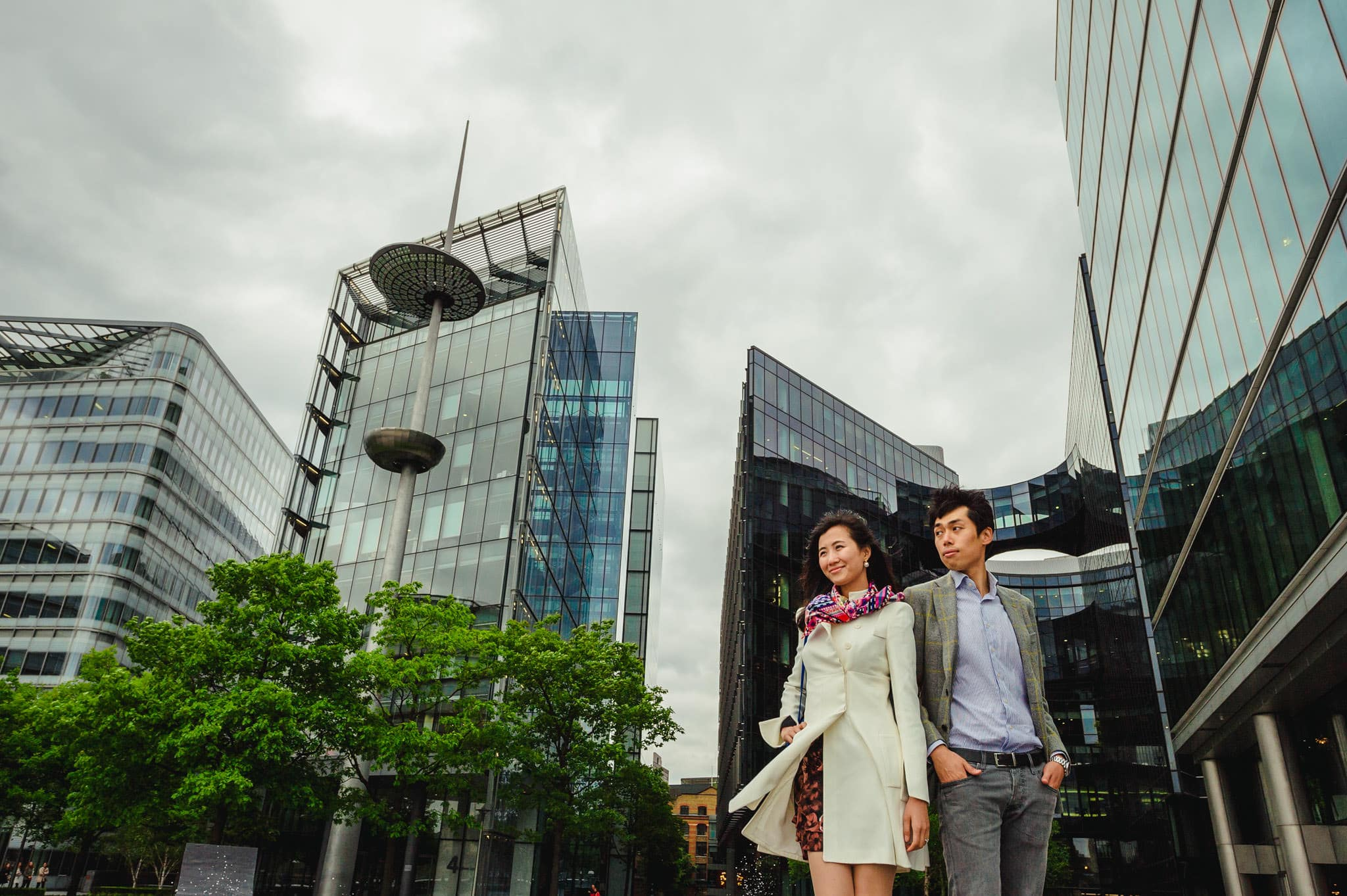 Yilin + Jason | London engagement session 9