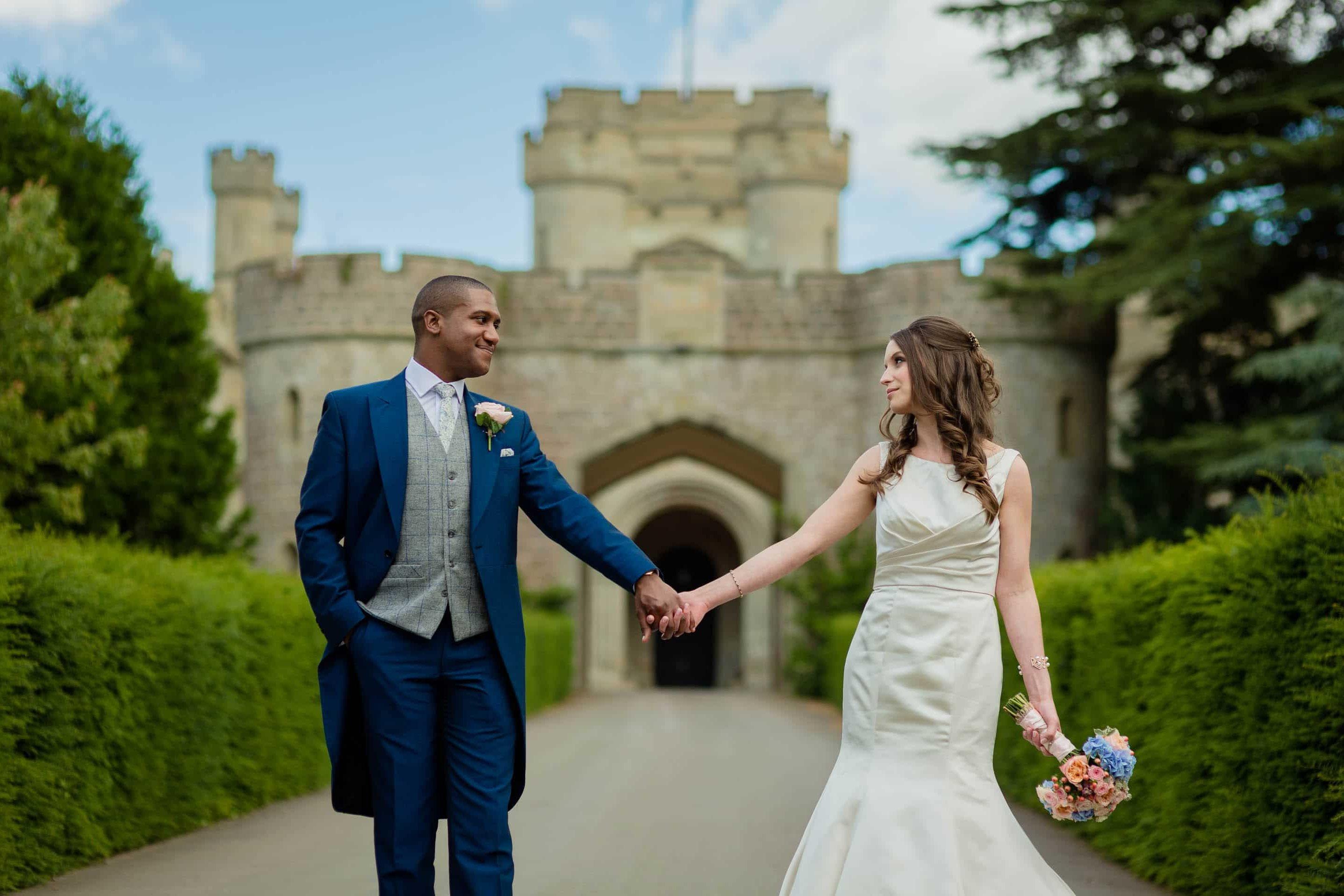 Eastnor Castle wedding in Herefordshire, West Midlands - Helen + Barrington 24