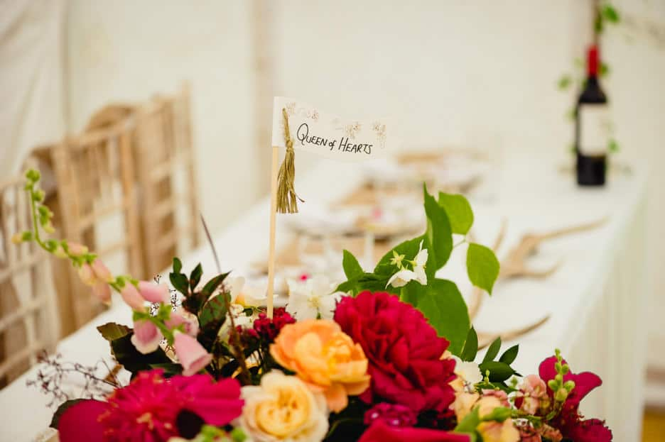 Alice in Wonderland wedding - Katie + Ben 74