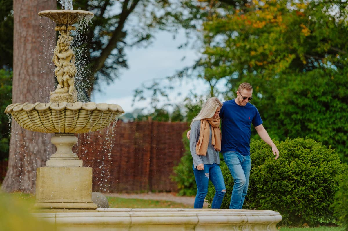 Sadie + Ken's pre wedding photography at Lemore Manor in Herefordshire, West Midlands 1