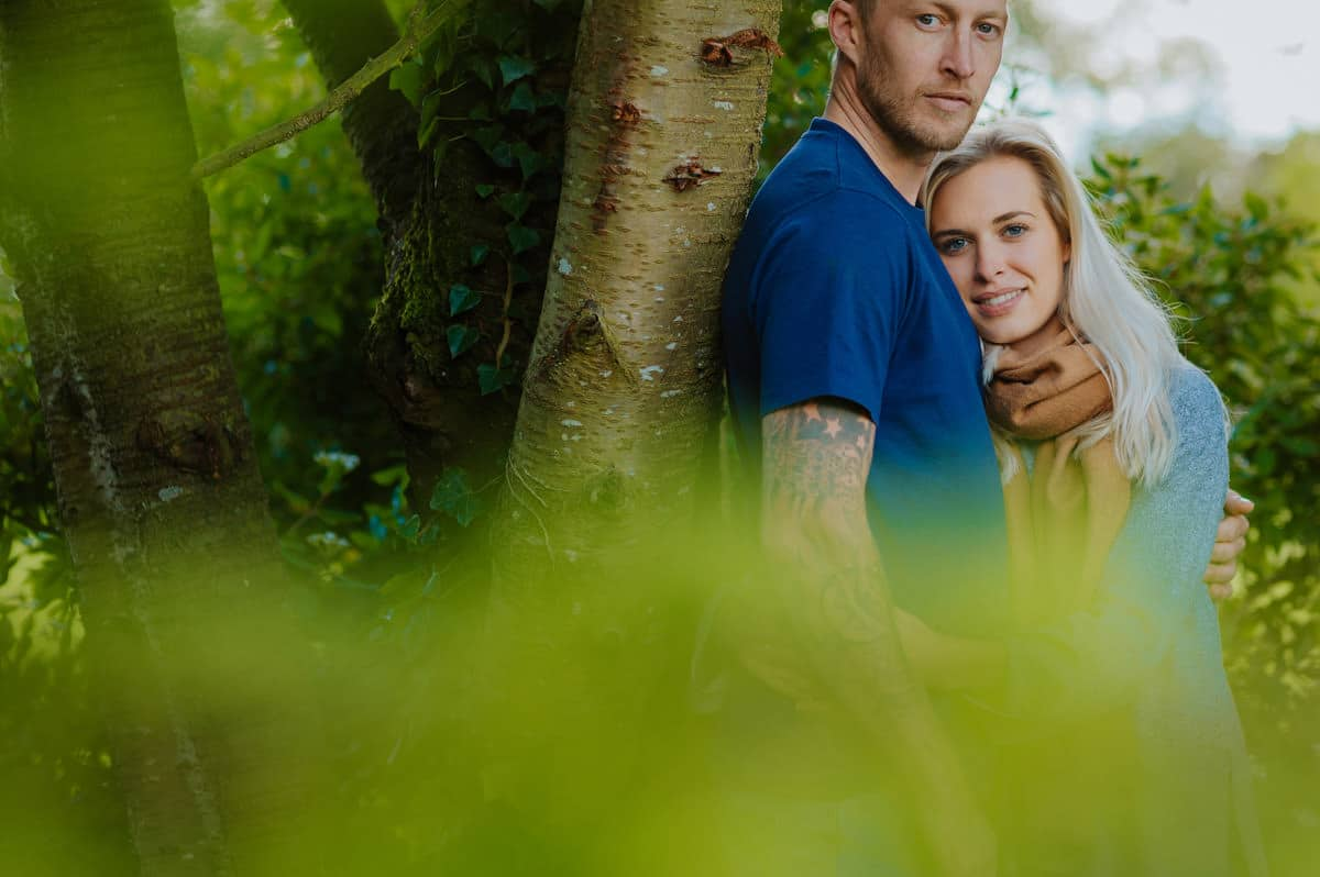 Sadie + Ken's pre wedding photography at Lemore Manor in Herefordshire, West Midlands 9