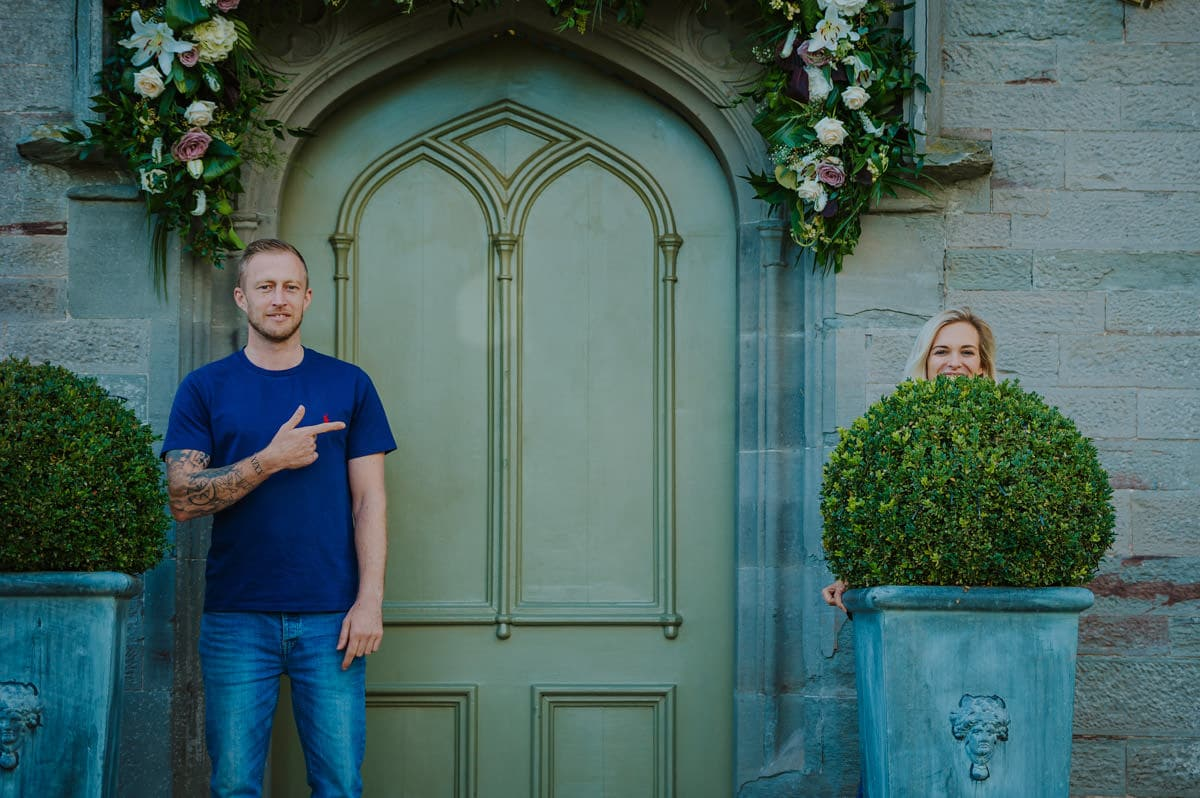 Sadie + Ken's pre wedding photography at Lemore Manor in Herefordshire, West Midlands 3