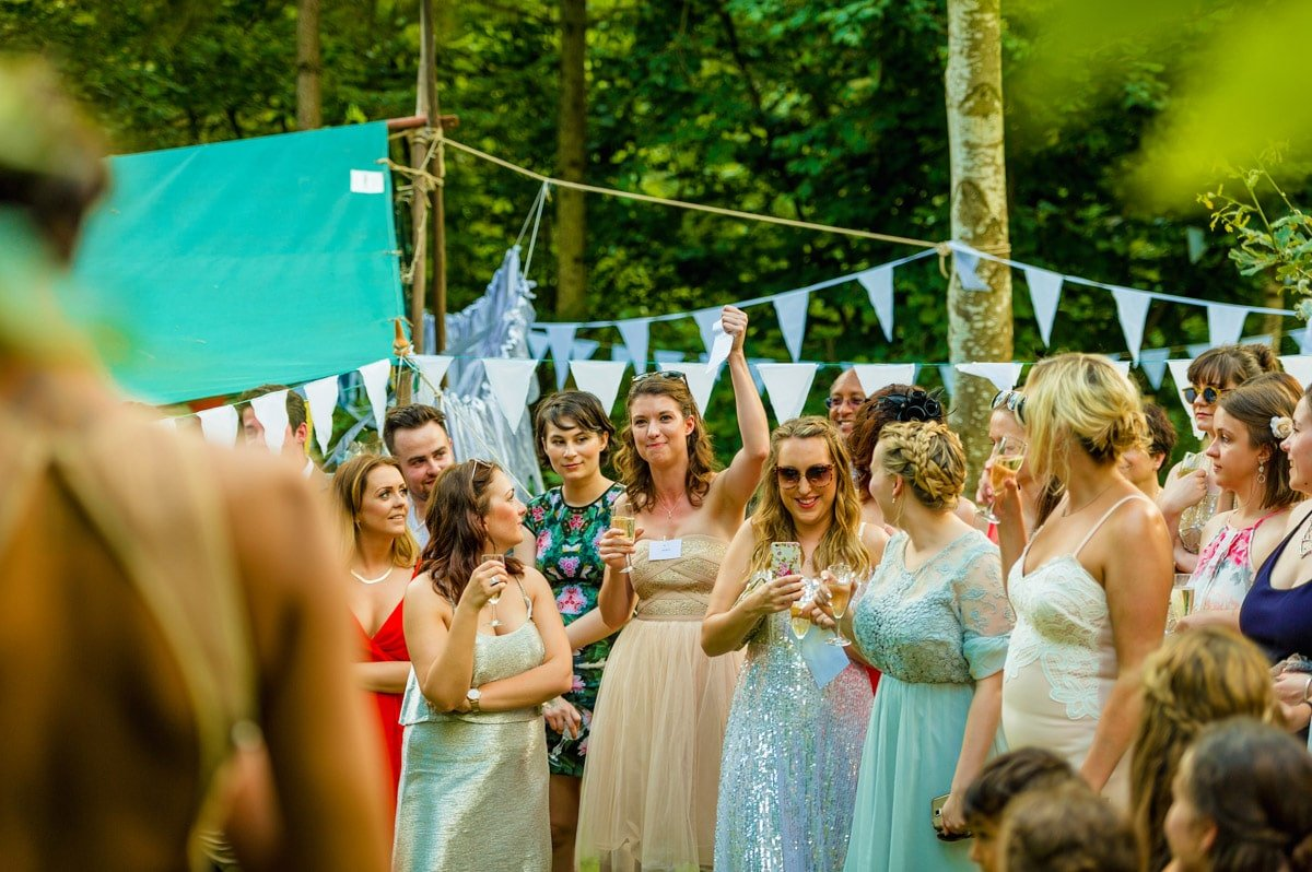 Woodland Tipis and Yurts wedding in Herefordshire, West Midlands - Megan + Daniel 1