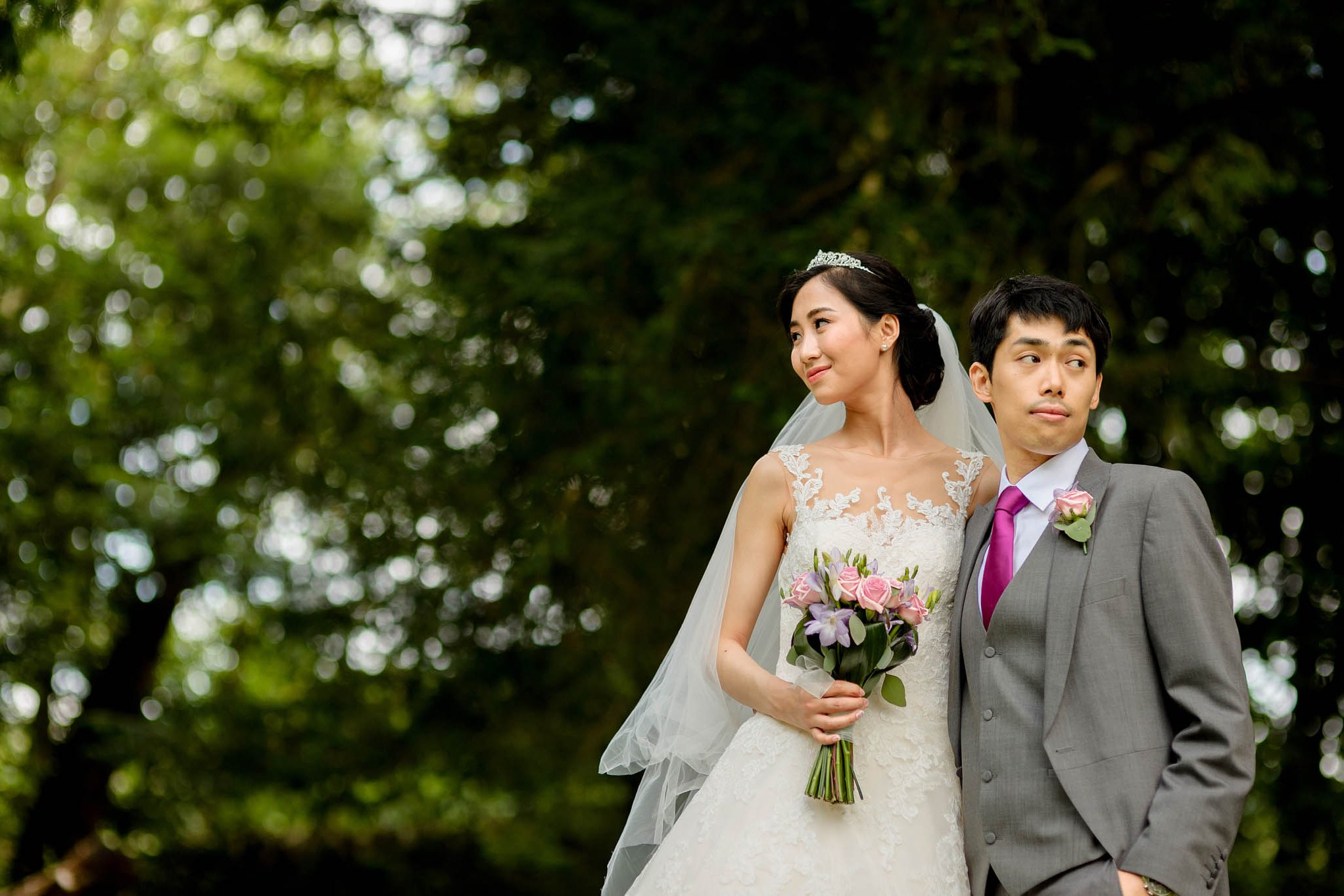 Chinese wedding at Eastnor Castle in Herefordshire, West Midlands - Yilin & Tongbiao 15