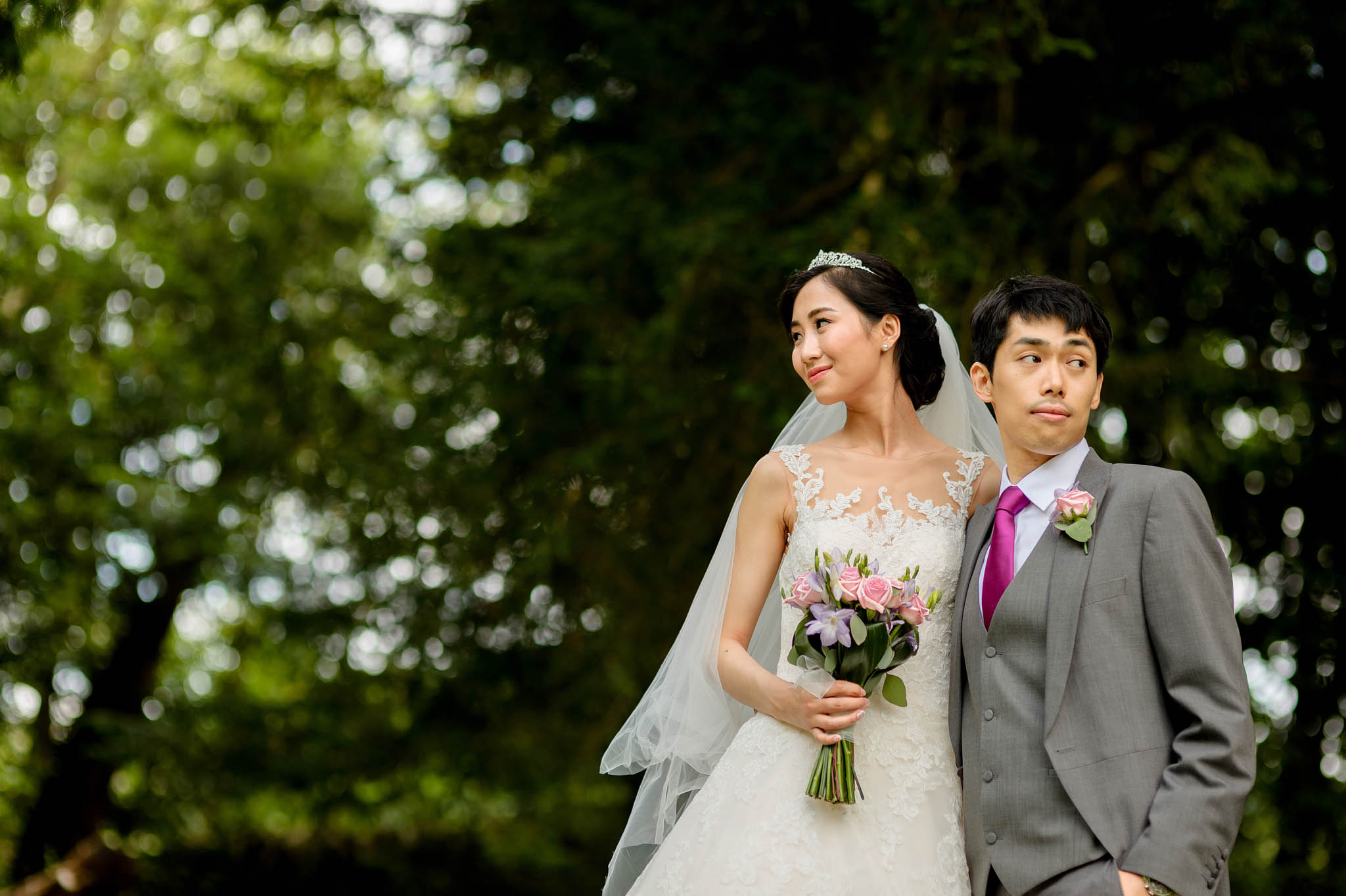 Chinese wedding at Eastnor Castle in Herefordshire, West Midlands - Yilin & Tongbiao 3