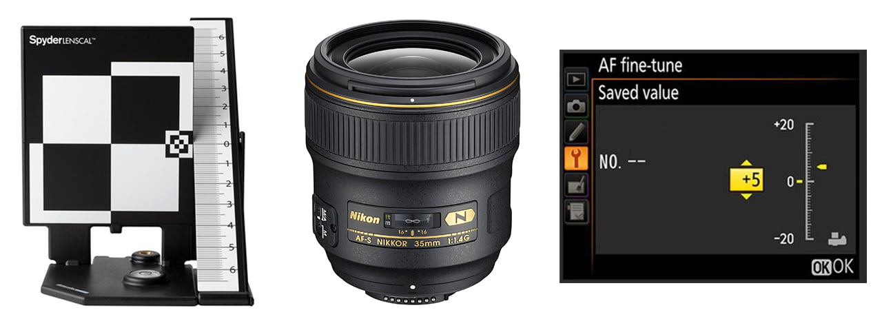 Fine Tuning DSLR Lenses