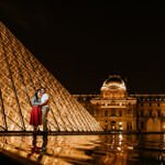 Pre Destination wedding photography Paris, France - Kish & Guv 11