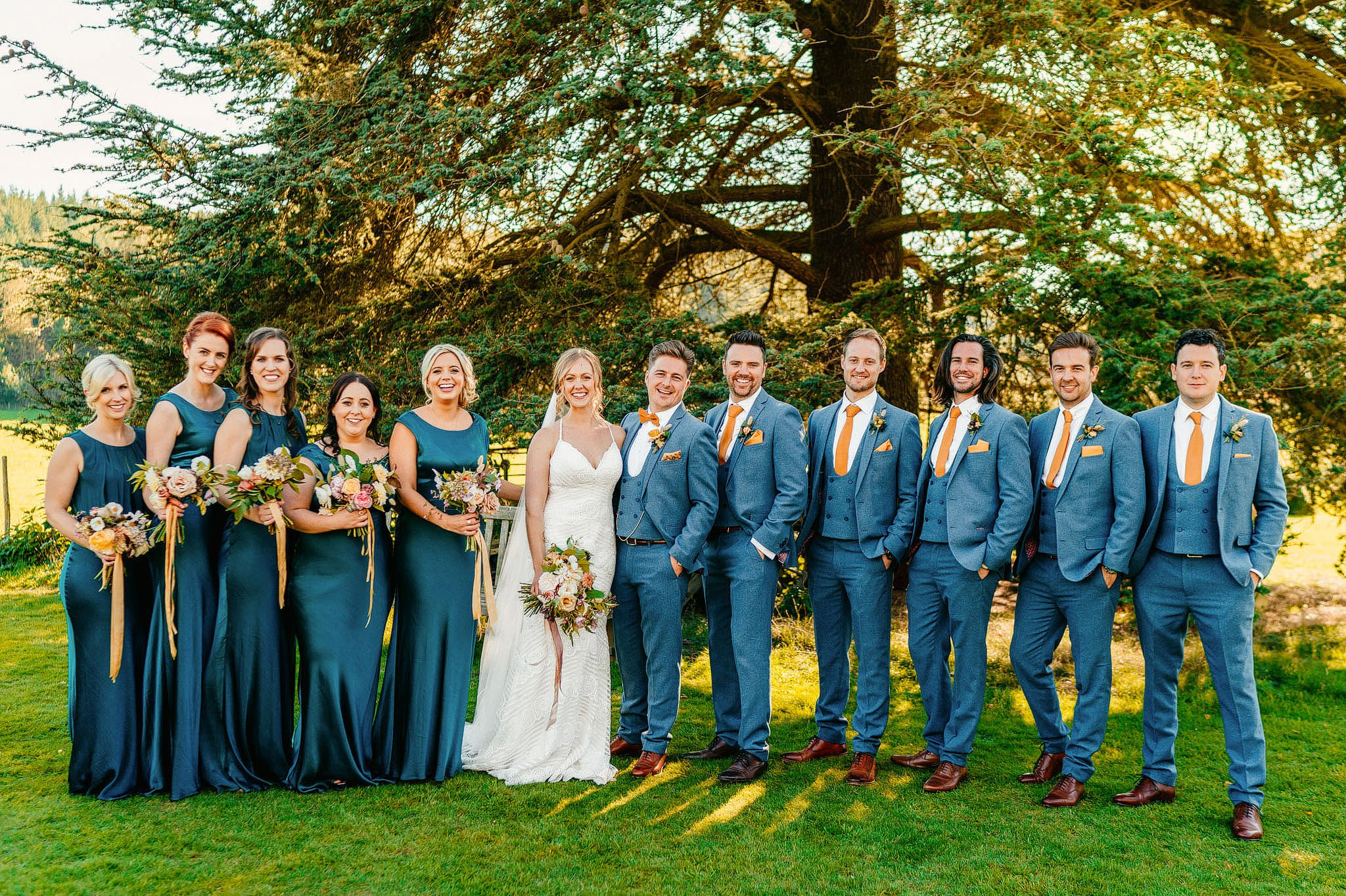 Walcot Hall Wedding