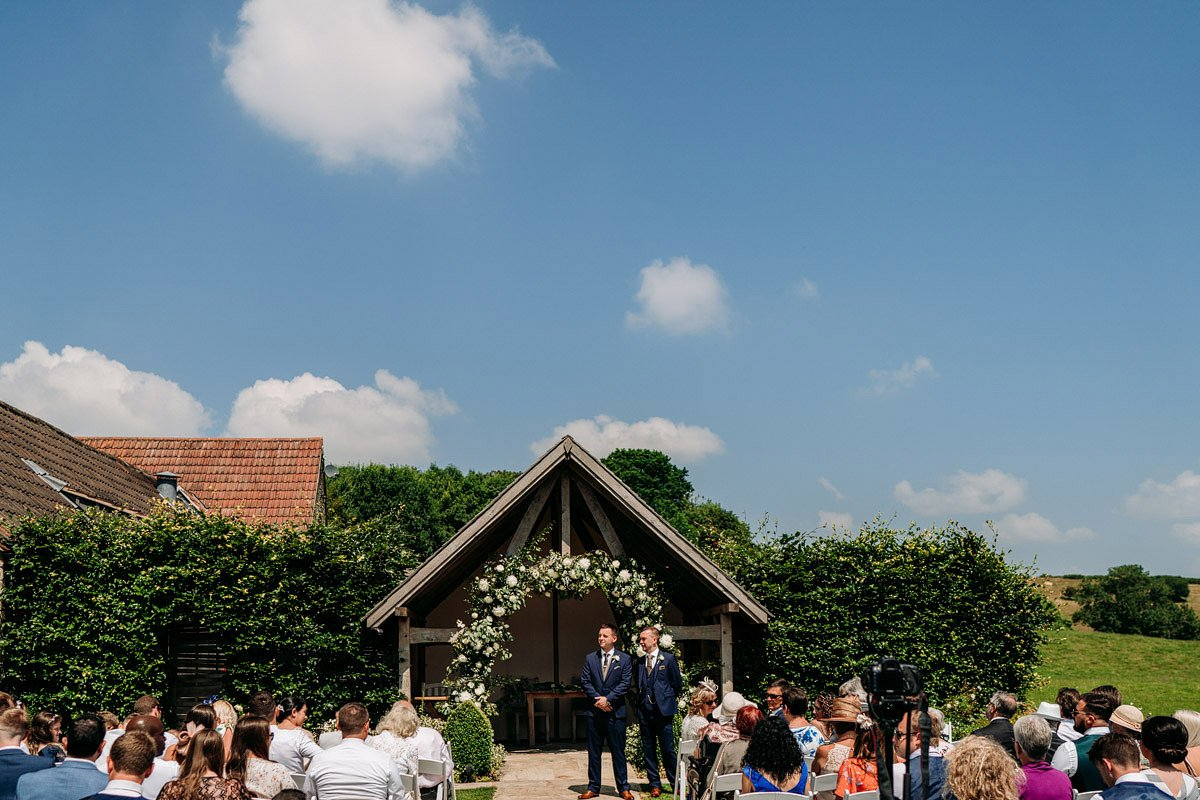Kingscote Barn Wedding, Cotswolds 12