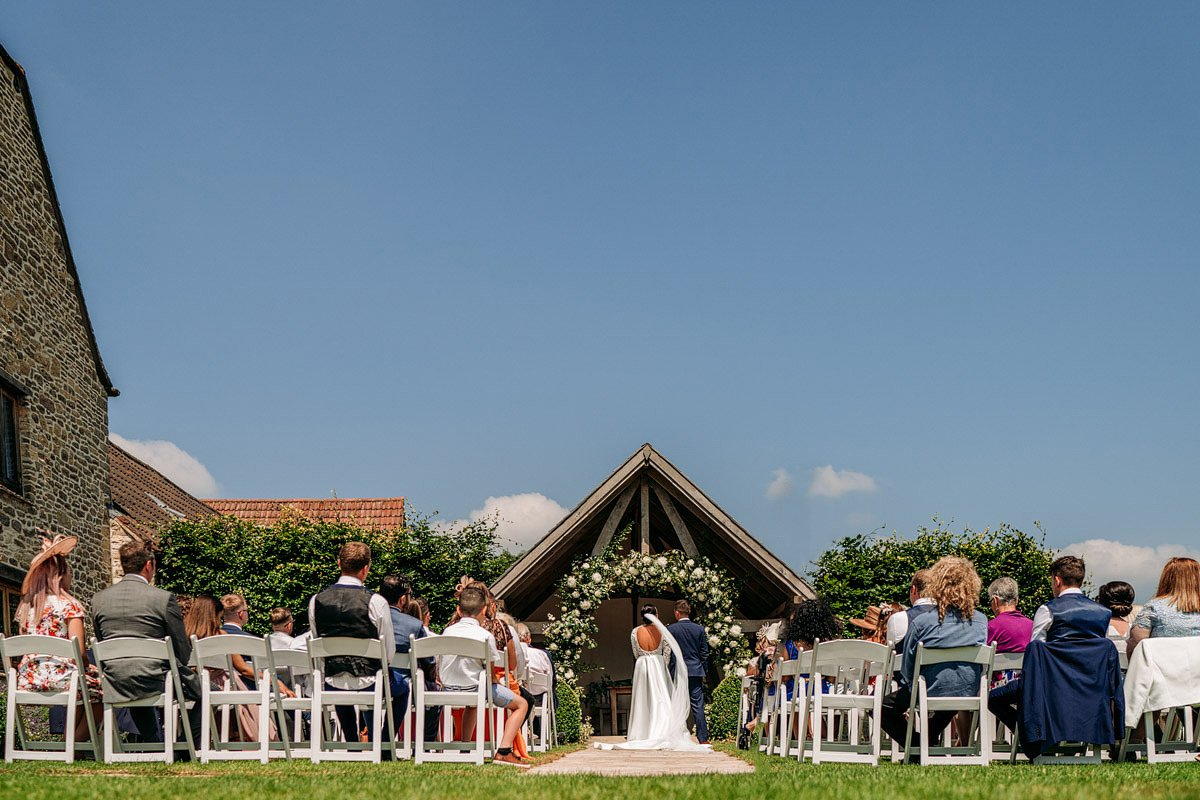Kingscote Barn Wedding, Cotswolds 14
