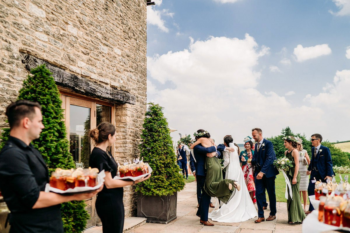 Kingscote Barn Wedding, Cotswolds 20