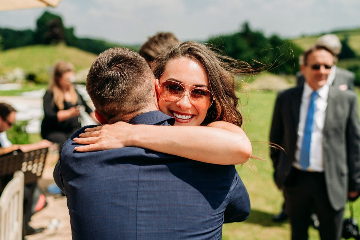 Kingscote Barn Wedding, Cotswolds 19