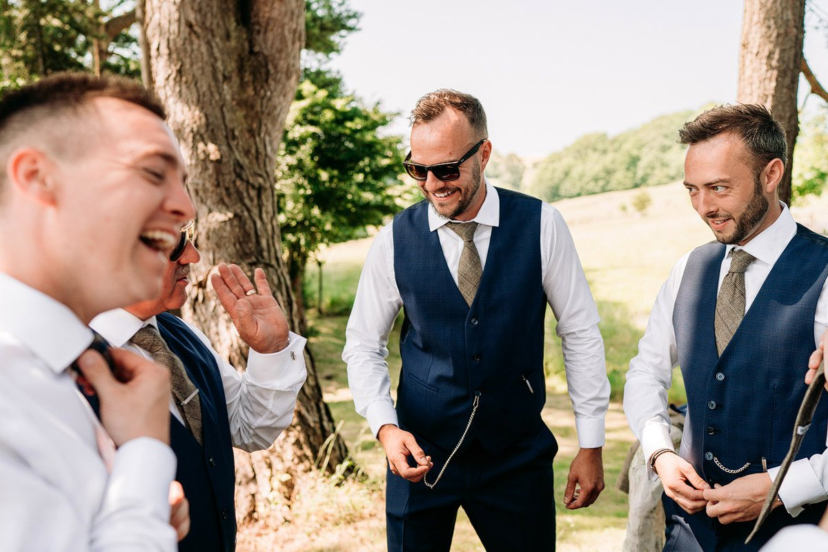 Kingscote Barn Wedding, Cotswolds 5