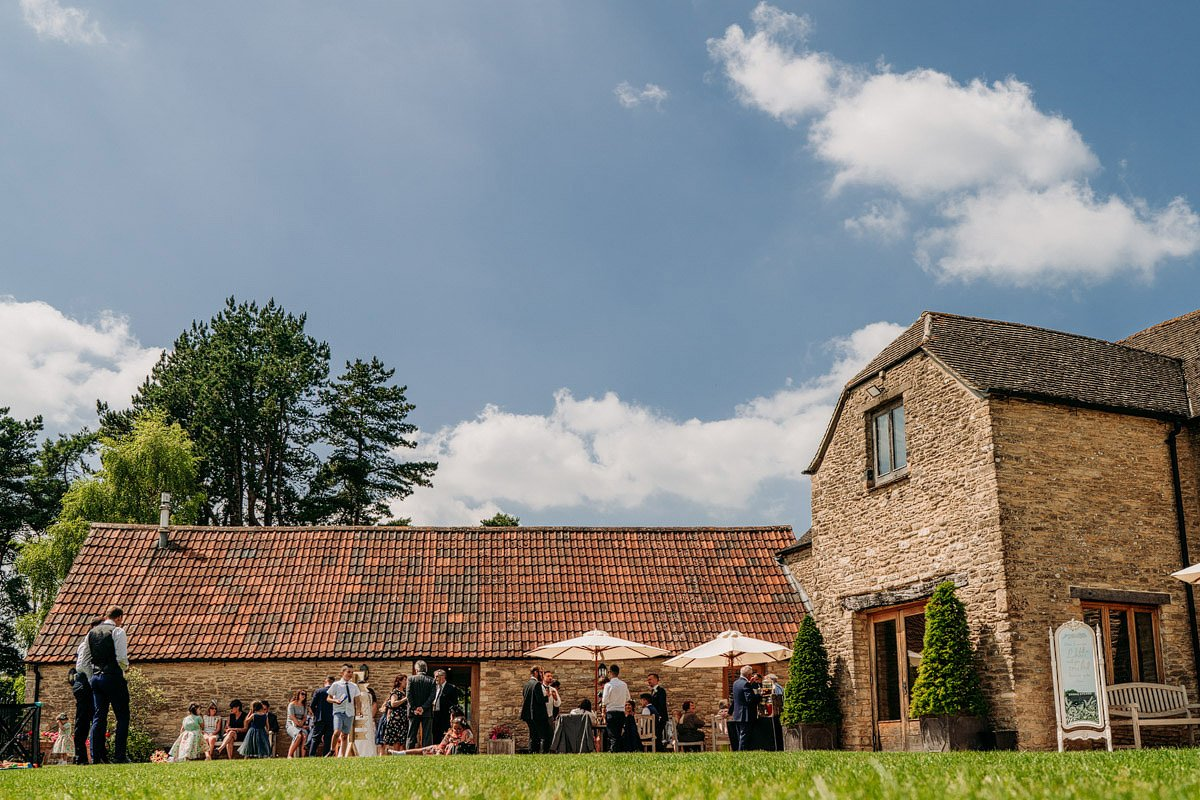 Kingscote Barn Wedding, Cotswolds 28