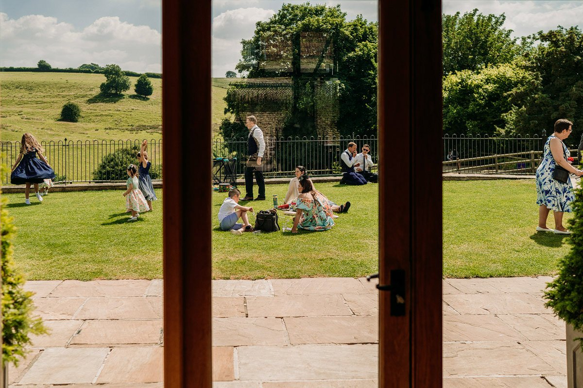 Kingscote Barn Wedding, Cotswolds 34