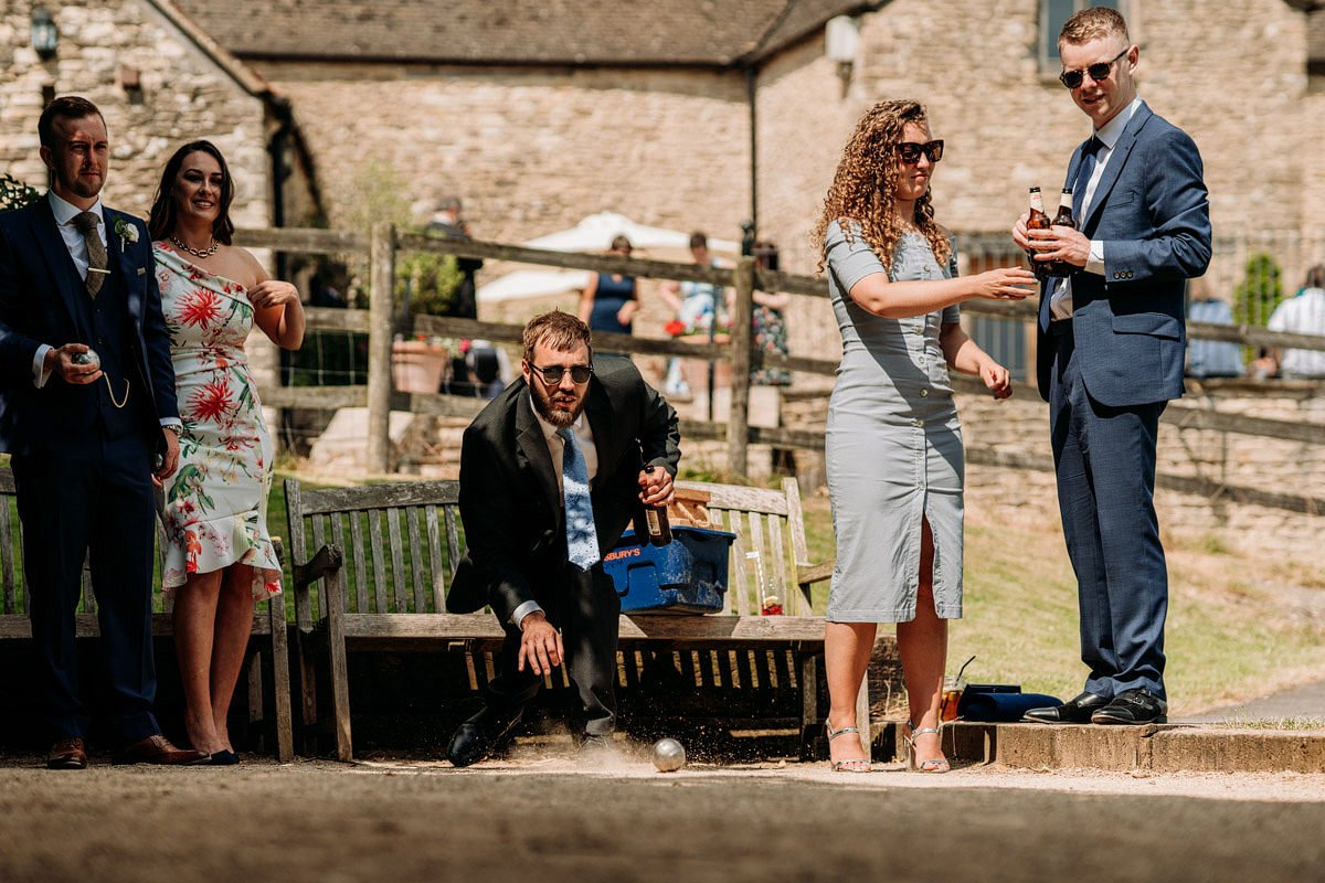 Kingscote Barn Wedding, Cotswolds 36