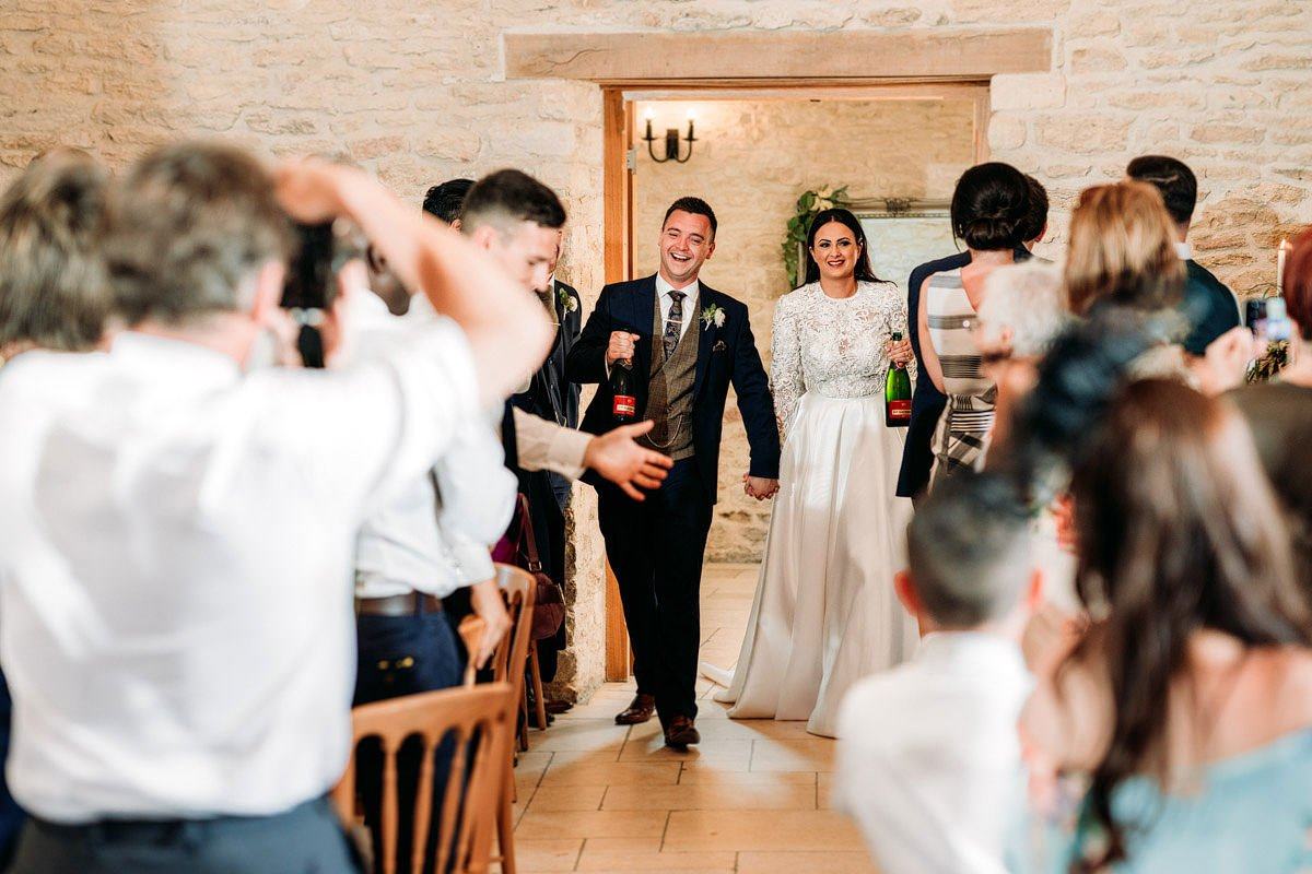 Kingscote Barn Wedding, Cotswolds 38