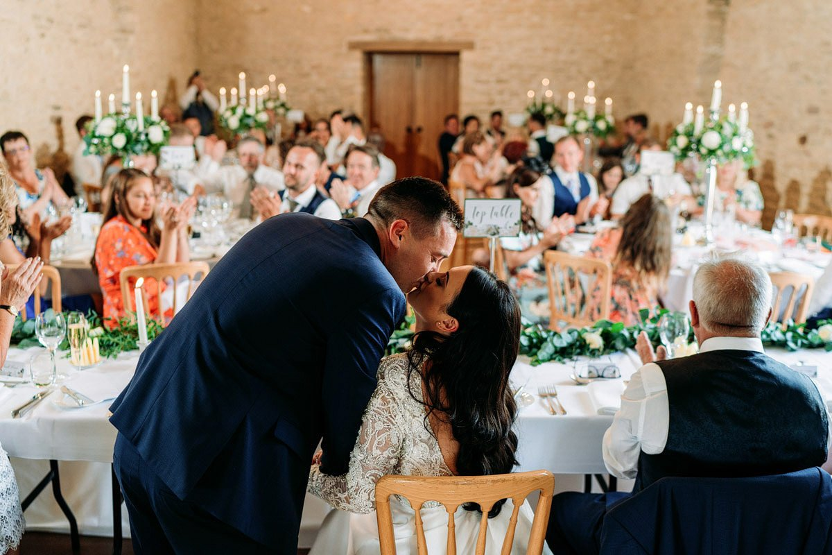 Kingscote Barn Wedding, Cotswolds 39