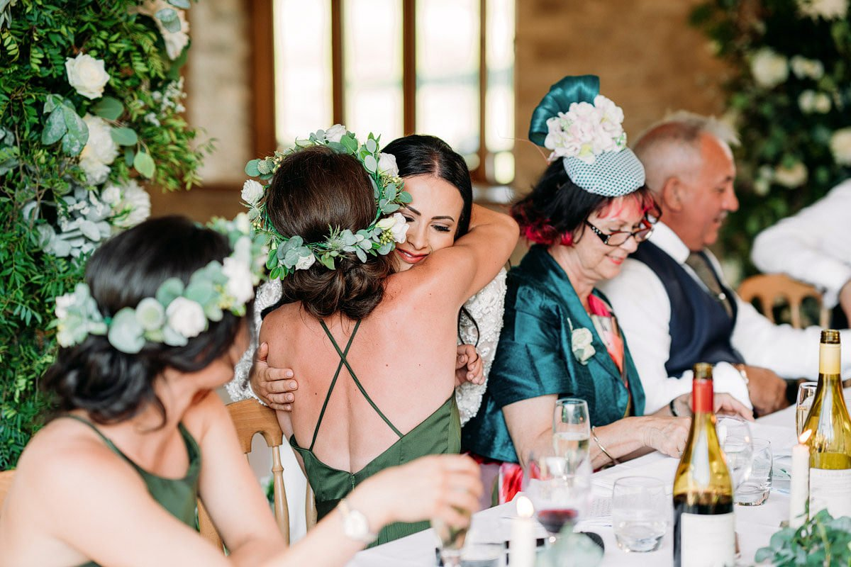 Kingscote Barn Wedding, Cotswolds 40