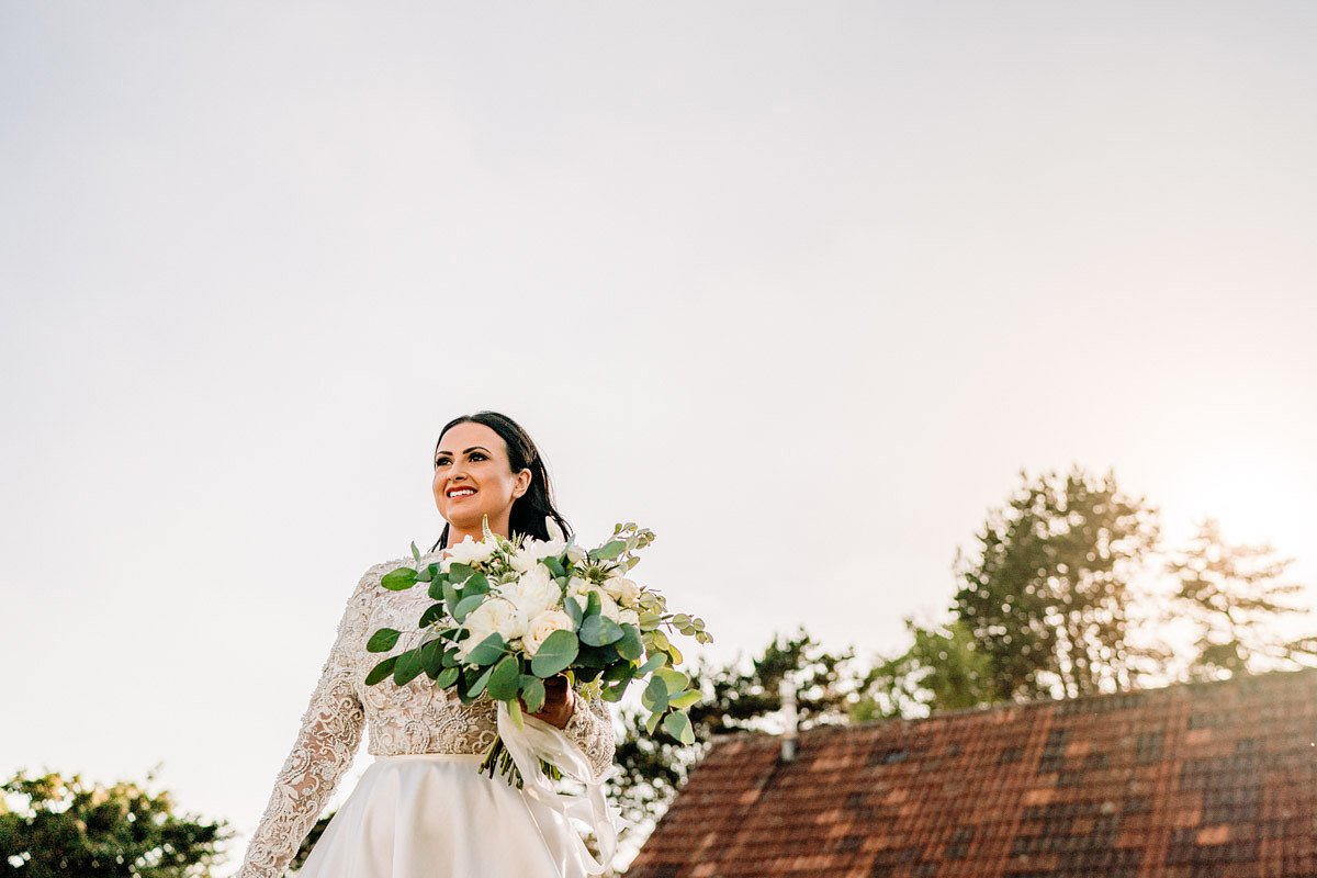 Kingscote Barn Wedding, Cotswolds 22