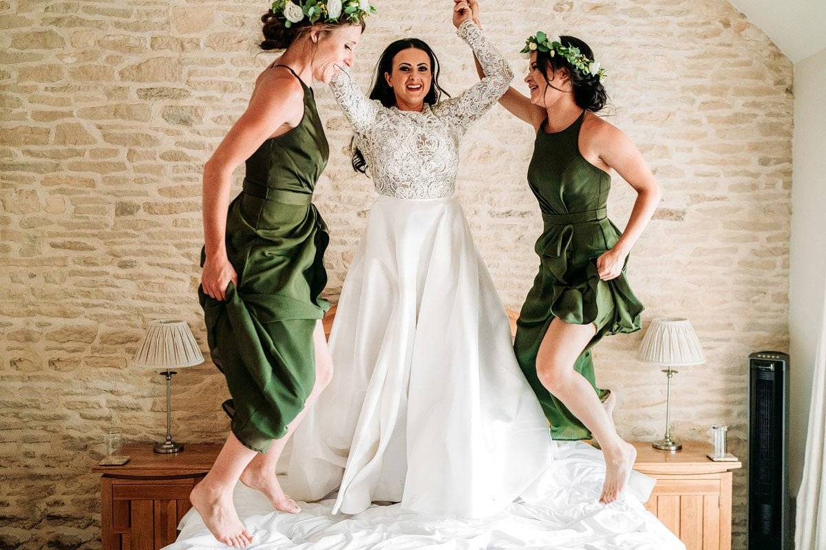 Kingscote Barn Wedding, Cotswolds 47