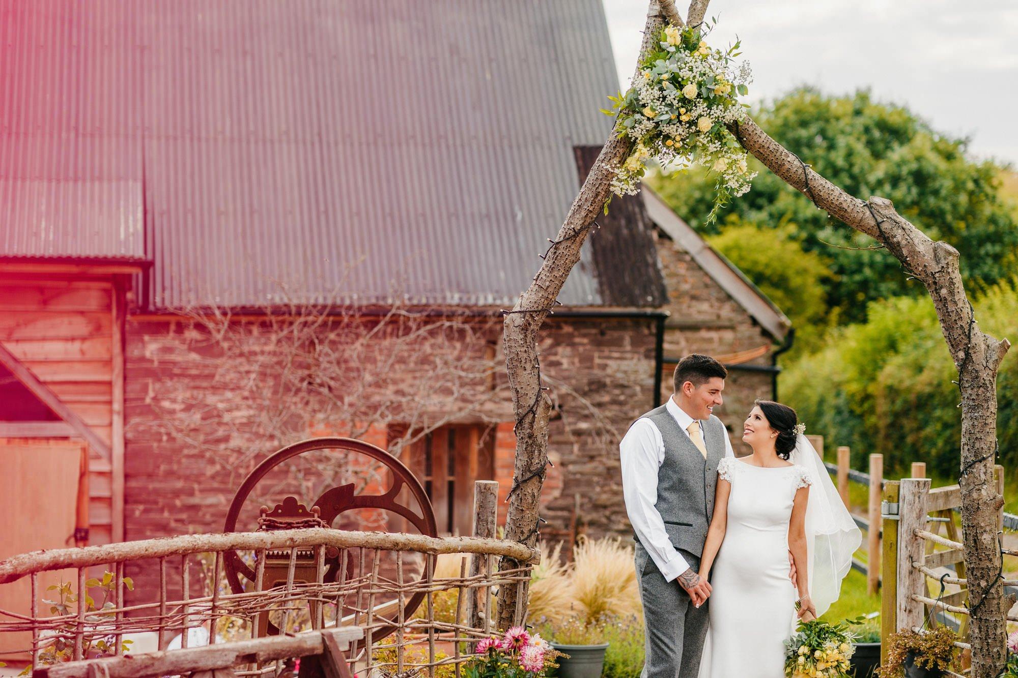 The Mule Shed Wedding - Sam + Sarah 1