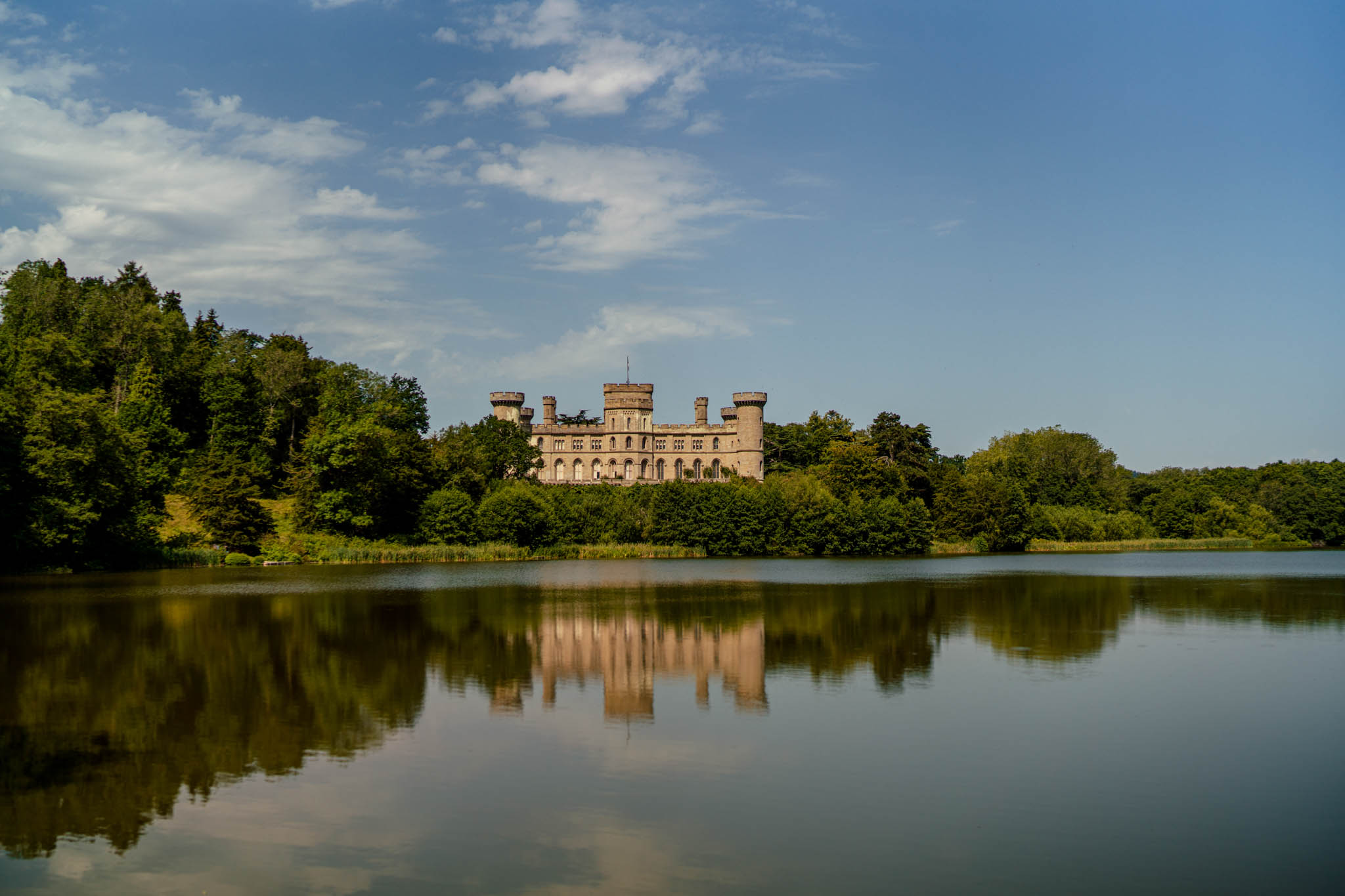 Eastnor Castle Wedding - Ilona + Shane 1