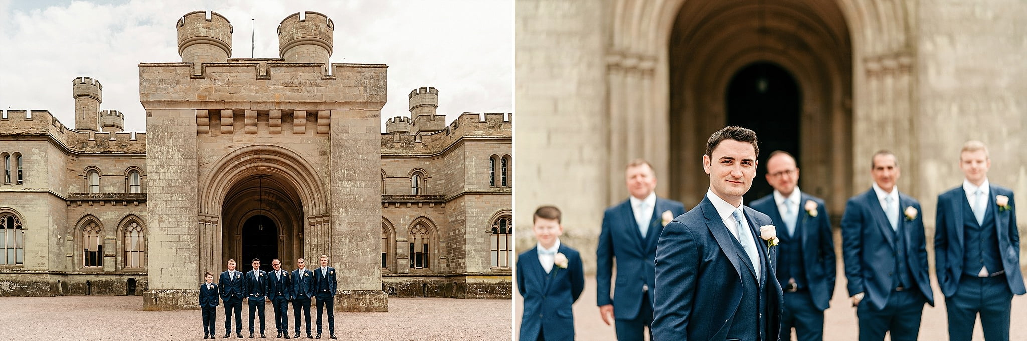 Eastnor Castle Wedding - Ilona + Shane 56