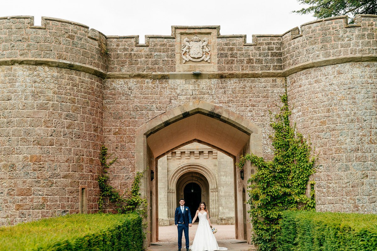 Eastnor Castle Wedding - Ilona + Shane 59