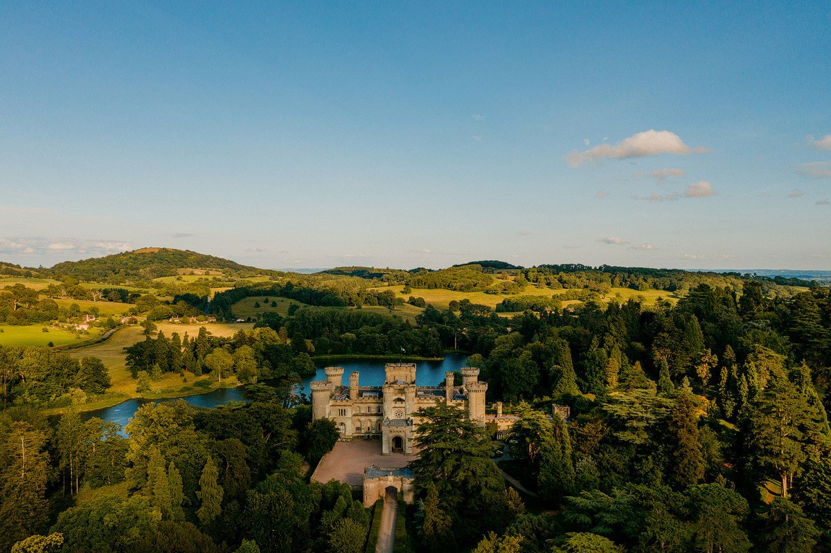 Eastnor Castle Wedding - Ilona + Shane 65