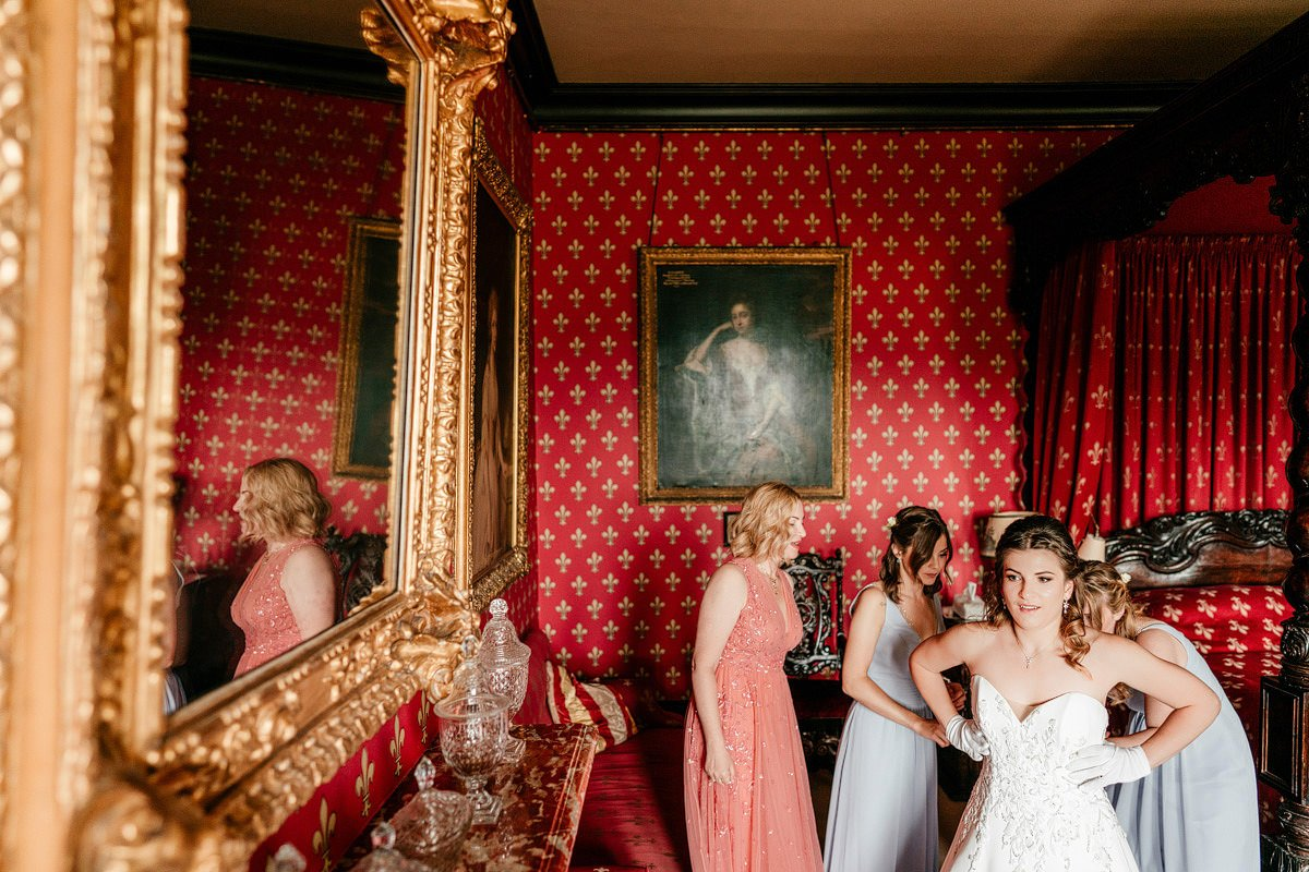 Eastnor Castle Wedding - Ilona + Shane 12