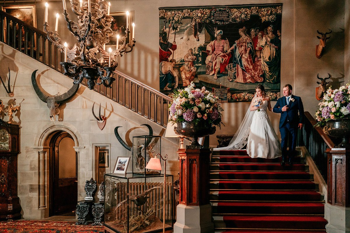 Eastnor Castle Wedding - Ilona + Shane 19