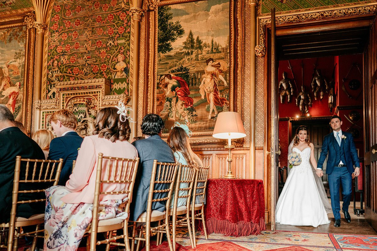 Eastnor Castle Wedding - Ilona + Shane 21
