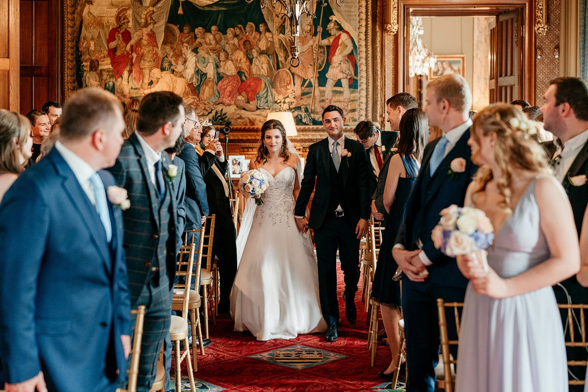 Eastnor Castle Wedding - Ilona + Shane 22