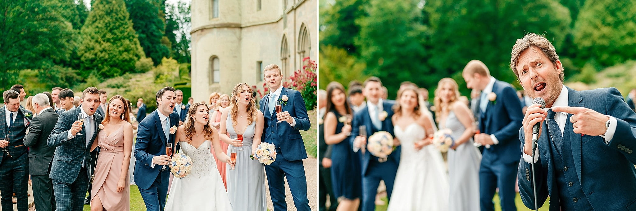 Eastnor Castle Wedding - Ilona + Shane 42