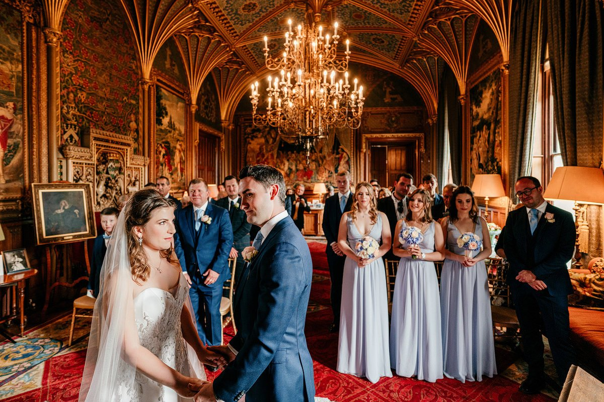 Eastnor Castle Wedding - Ilona + Shane 24