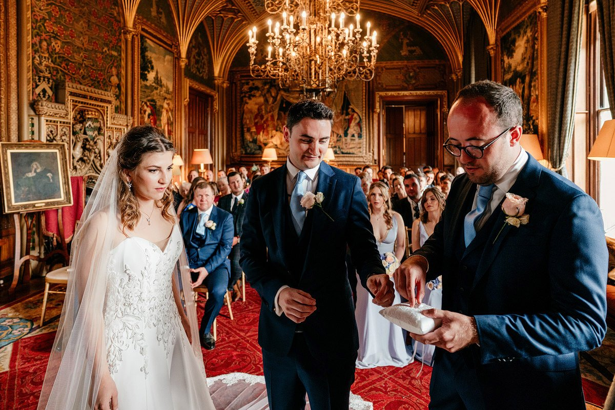 Eastnor Castle Wedding - Ilona + Shane 30