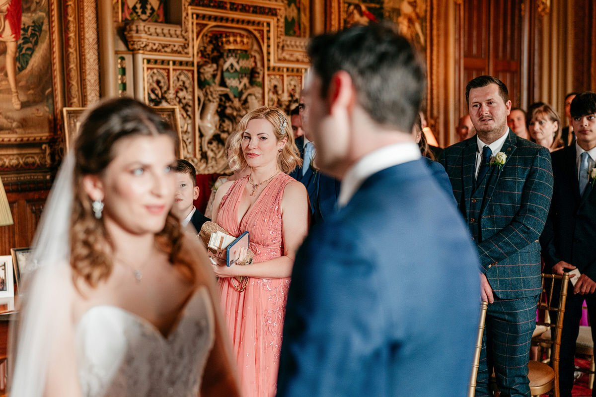 Eastnor Castle Wedding - Ilona + Shane 33