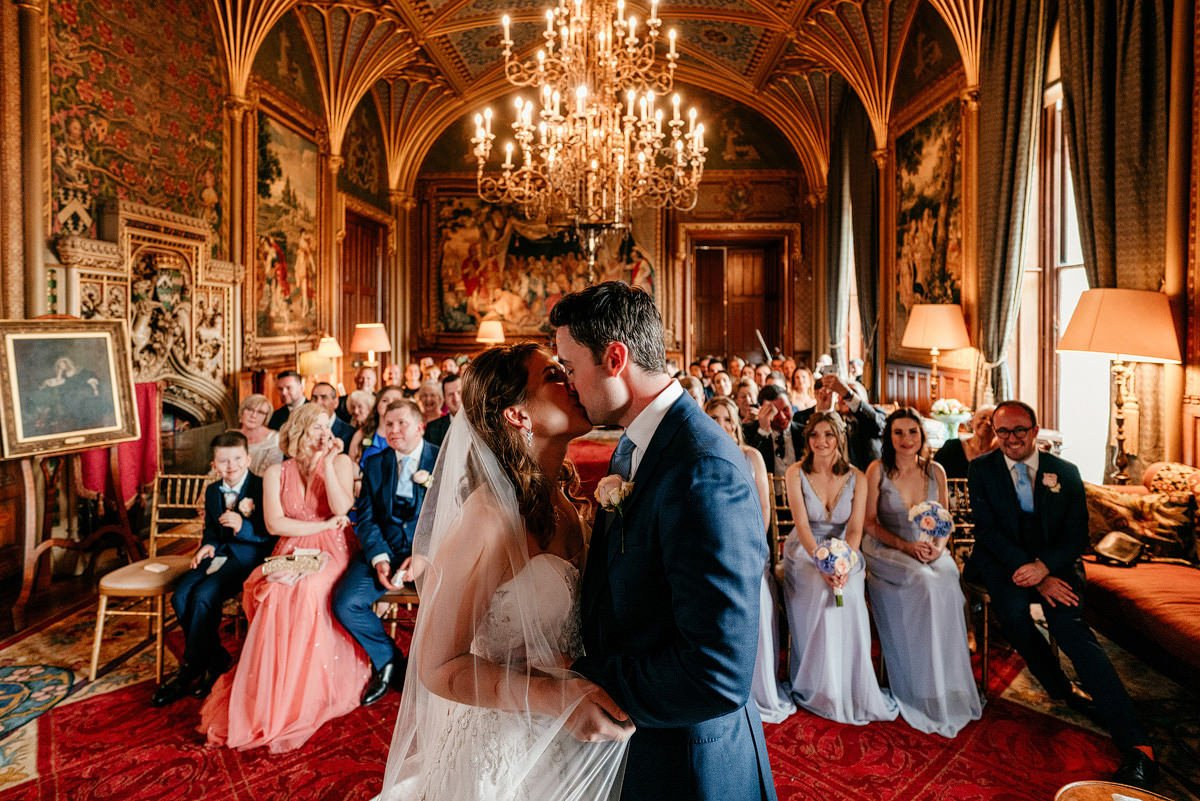 Eastnor Castle Wedding - Ilona + Shane 34