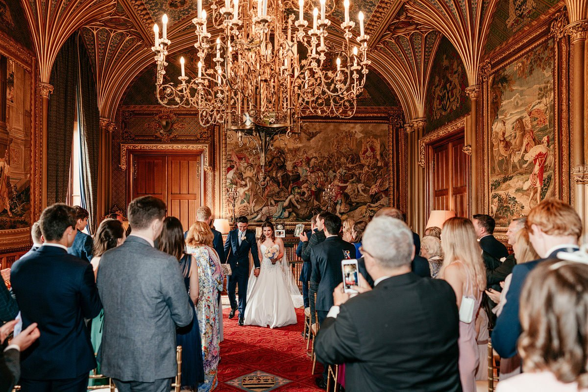Eastnor Castle Wedding - Ilona + Shane 36