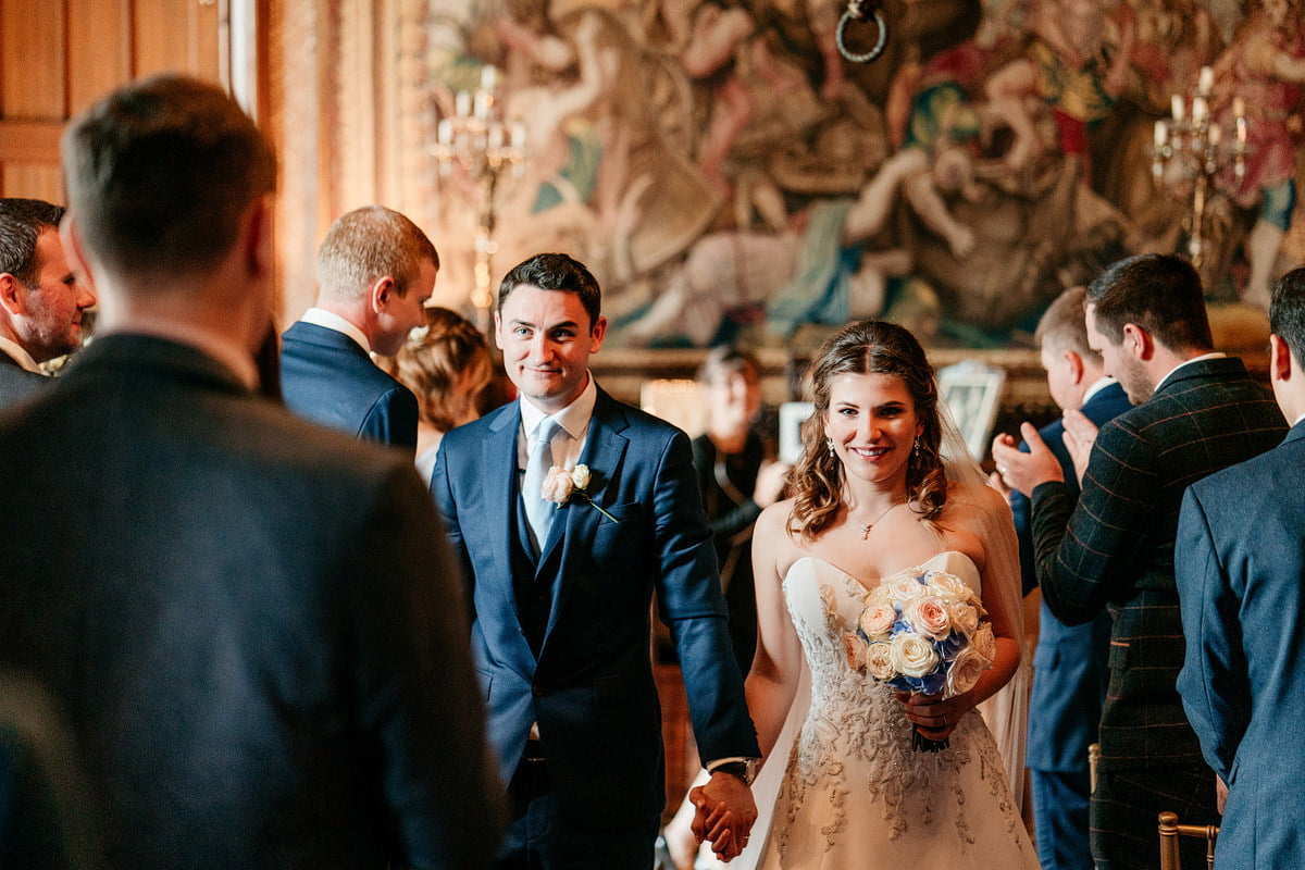 Eastnor Castle Wedding - Ilona + Shane 37