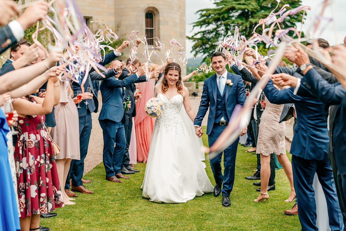 Eastnor Castle Wedding - Ilona + Shane 41