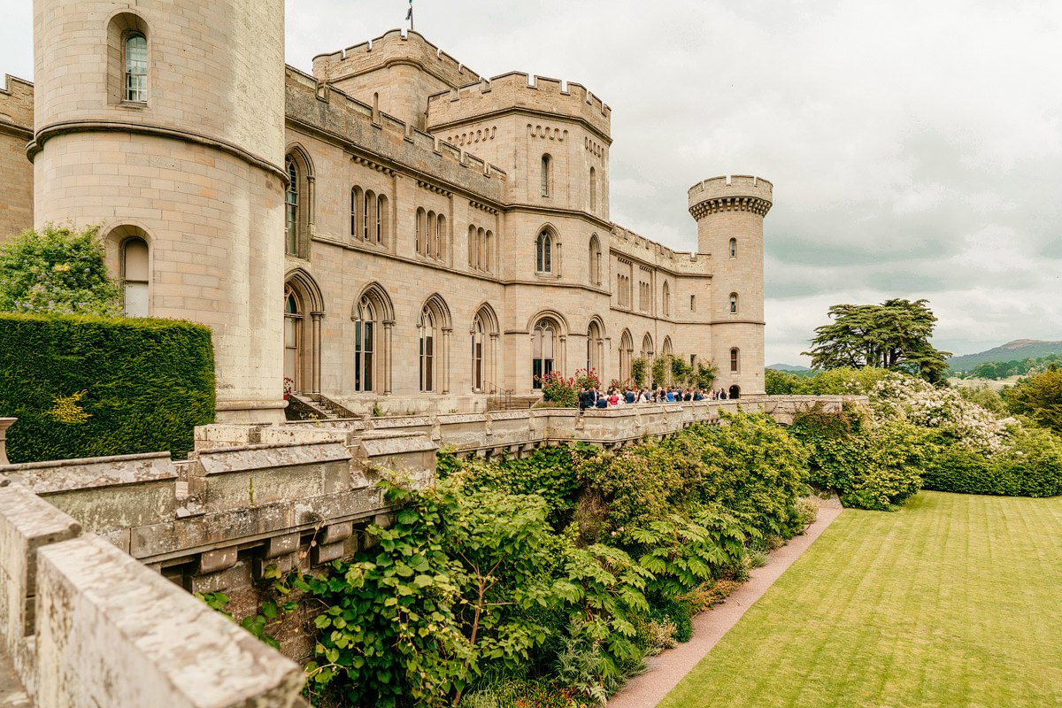 Eastnor Castle Wedding - Ilona + Shane 43