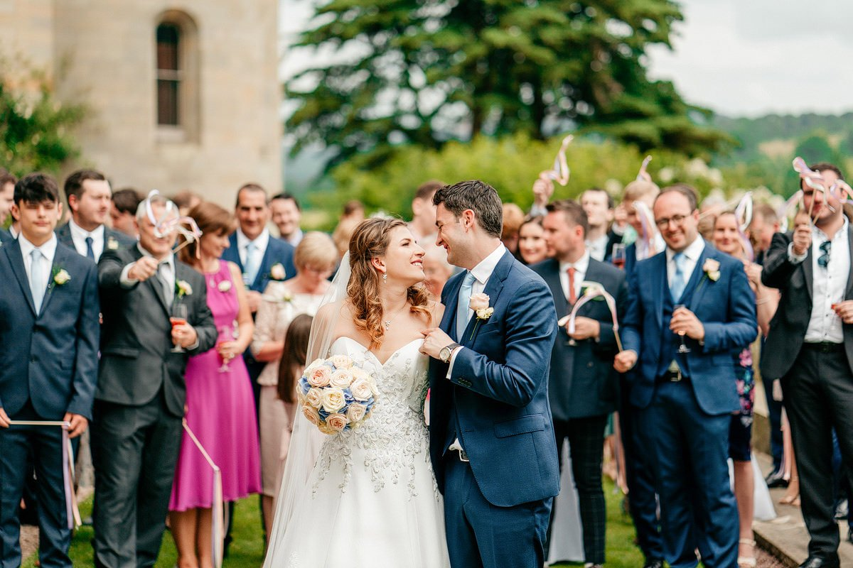 Eastnor Castle Wedding - Ilona + Shane 46