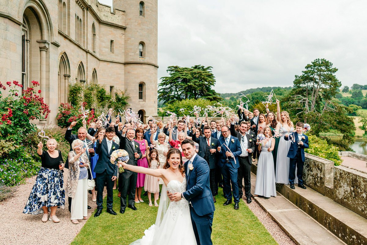 Eastnor Castle Wedding - Ilona + Shane 48