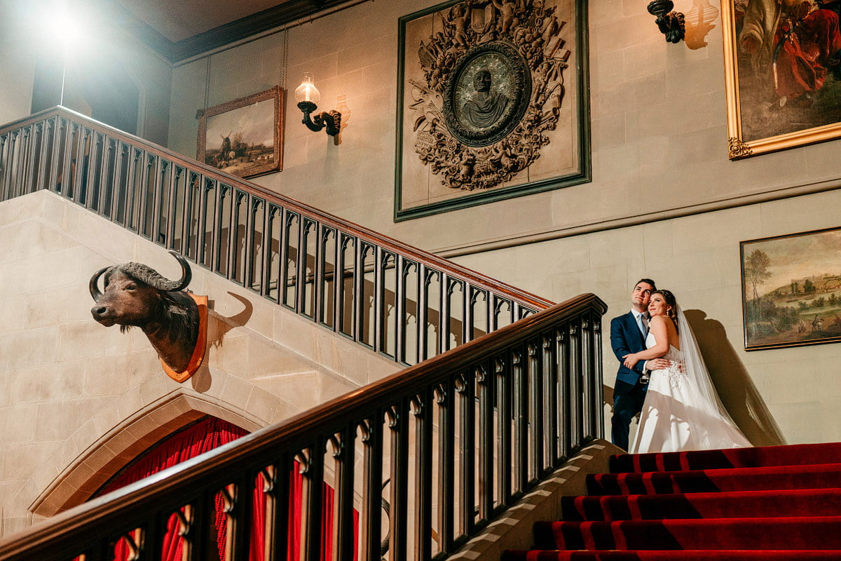 Eastnor Castle Wedding - Ilona + Shane 51