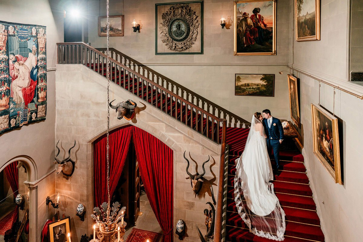 Eastnor Castle Wedding - Ilona + Shane 54